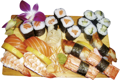 Sushi Happy-Time-Platte